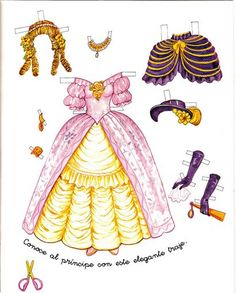 A Princess Paper Doll | Gabi's Paper Dolls