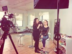 Make Up Forever's Lijha Stewart helping Sydne become her beauty icon - Christy Turlington #makeupforevericons