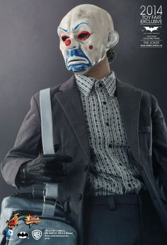 Hot Toys : The Dark Knight - The Joker (Bank Robber Version 2.0) 1/6th scale Collectible Figure