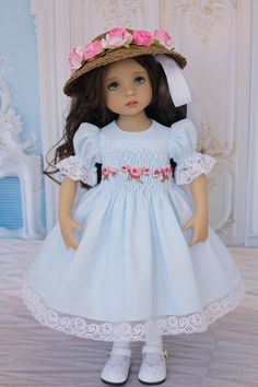 Sewing Doll Clothes, American Doll Clothes, Sewing Dolls, Girl Doll Clothes, Girl Dolls, Pretty Dolls, Beautiful Dolls, Creepy Baby Dolls, Baby Barbie