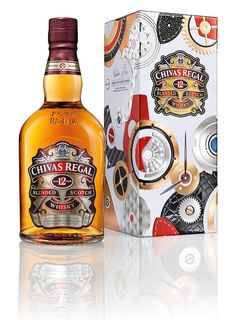 Chivas 12 Made For Gentlemen By Bremont Limited Edition Watches And Gift Tin