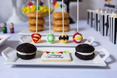 Superheroes Birthday Party Ideas | Photo 3 of 49