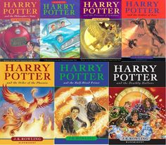 Harry Potter series- J.K Rowling
