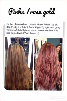 Caramel coloring formula 147403 Rose ð Hair color in gold in 201 … – All About Hairstyles Gold Hair Colors, Hair Color Pink, Cool Hair Color, Brown Hair Colors, Cabelo Rose Gold, Rose Gold Hair, Aveda Hair Color, Hair Color Balayage, Couleur Aveda