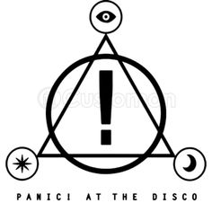 Panic At The Disco Symbol Tattoos In 2019 Pinterest Emo