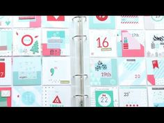 Count down the days until Christmas in your Project Life album or keep notes to help you complete your December Daily projects! Learn more and get supplies a...