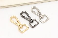 Daisy Storee DIY Bag Purse Frame Accessories Metal Rings Five Colors Lock Button Buckle Ornament Hook Bag Strap Metal Ring Purse Handle