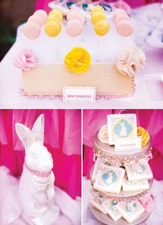 Heavenly Little Angel Birthday Party {+ Adorable Bunnies} - forget a little kid party, I'm using this for ME!