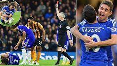 Hazard & Costa Oo Chelsea Ku Soo Celiyey Tubtii Guusha
