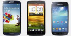 Samsung Galaxy S4 vs HTC One X vs Samsung Galaxy S4 Mini | Versus OS