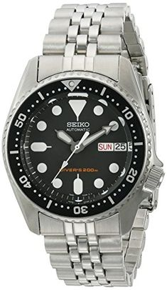 Seiko SKX013K2 Black Dial Automatic Divers Midsize Watch ... https://www.amazon.com/dp/B000Y91CLS/ref=cm_sw_r_pi_dp_x_2XlHzbF1H7N7H