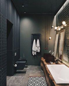 2,700 vind-ik-leuks, 17 reacties - Vibeke J Dyremyhr (@interior_delux) op Instagram: 'Fab material combination #bathroom #bathroomdesign #baderom #interior_delux Design Alesya…'