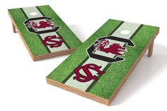 South Carolina Gamecocks Cornhole Board Set - Field (w/Bluetooth Speakers)