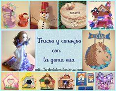 Blog sobre Fofuchas,como hacer fofuchas,carteles infantiles de goma eva,bisuteria,regalos y dulces