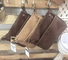 How pretty are these new Ava bag with front pocket by Mandara