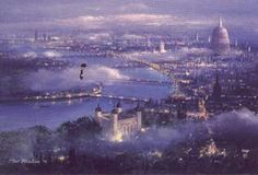 Peter Ellenshaw's London (Mary Poppins)