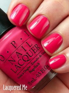 Pink polish: OPI You're Such a Kabuki Queen