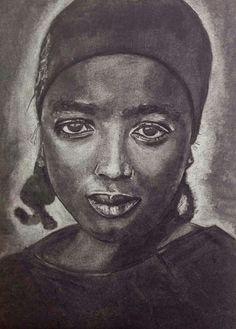 Meisje uit Kameroen