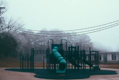 Nobody's been to that playground for years. The swings are only blown by the wind, and the slides haven't been touched by the backsides of gleeful children for at least three decades. So why is it that you hear laughter and shouts coming from the playground? And how come you can't see anyone there? And why does it stop when you go to look at it?