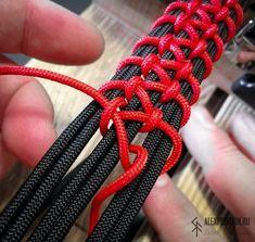 2x EDC Paracord Rope Bracelet Knitting Needle String 550 Paracord for Weaving