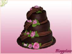 Bloggoloso: Tutorial passo passo: come realizzare una torta a più piani