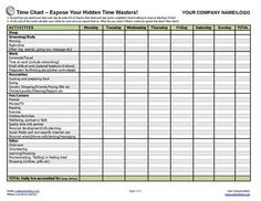 No more excuses! Help busy clients get real about where their time goes with this powerful time-charting exercise.