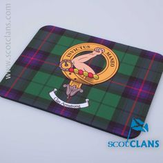 Armstrong Clan Crest Mouse Mat. Free Worldwide Shipping Available