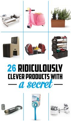 26 Ridiculously Clever Products With A Secret