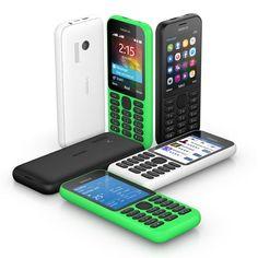 Nokia 215 Dual Sim, con Internet y 21 días de autonomía por 29$  También tiene cámara, linterna led y pesa menos de 80 gramos.