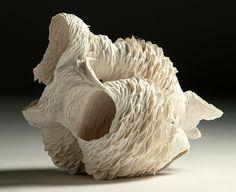 """Nuala O'Donovan: """"Pinecone Heart"""", Porcelain"""