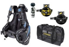 Cressi Travelight BCD MD, with Club Bag, AC2/ES2 Regulator and XS Octopus - http://scuba.megainfohouse.com/cressi-travelight-bcd-md-with-club-bag-ac2es2-regulator-and-xs-octopus.html/