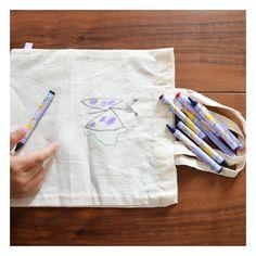 8 crayons pour textile