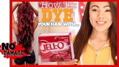 How To Dye Your Hair With Jell-O?!?!