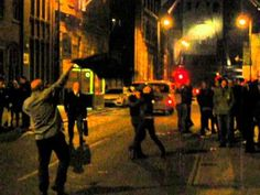 Liverpool Celebrates the Death of Thatcher | Ole ole ole, she's deadh, she's deadh...