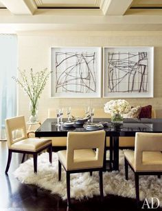 round or rectangular: which is better for dining? | @meccinteriors | design bites | #diningroom