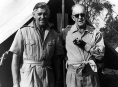 Clark Gable with Director John Ford. Join our community https://plus.google.com/communities/109740693570698356970