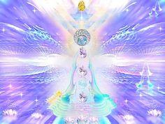 ♡ BE ♔ DIVINE ♡ Inner Visionary Art © Denise Anne Sati