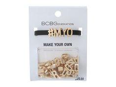 BCBGeneration Make Your Own Word Bracelet