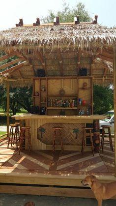 1800bf812308 My tiki bar progress -- Tiki Central Deck Bar, Pool Bar, Patio Bar