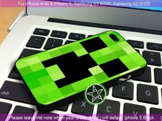 Creeper iPhone 4/4S/5, Samsung S4/S3/S2 cover cases | sedoyoseneng - Accessories on ArtFire