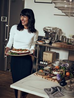 Eye-Swoon_The_Line_Cointreau_Winter_Spice_Cocktail_Roasted_squash_ricotta_mint_crostini_Blood_orange_galette_tablescape_interior_design_holiday_athena_calderone_The_Apartment_Matthew_Sprout-2