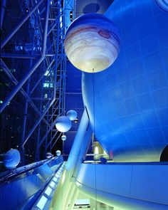 Another possible location: the Hayden Planetarium.