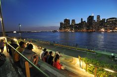 A visit to Brooklyn Bridge Park—day or night—is just one of the things you have to do when visiting DUMBO. [Photo: Julienne Schaer/NYC & Company]