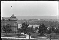Schilling house & Lake Merritt from Roland G. Brown house (@ 1389 Jackson) Oliver/Bancroft