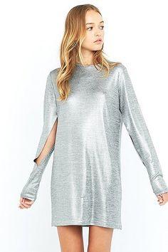 9e45f66508c Cheap Monday Sound Silver Dress - Urban Outfitters Veste En Cuir
