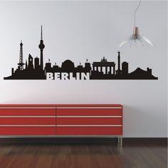 deko-shop-24.de-Wandtattoo-Skyline Berlin