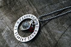 Belong to a Fireman Necklace by MelissasMonograms on Etsy, $29.00