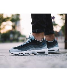 official photos d9f71 23316 Get the latest discounts and special offers on nike air max 95 essential  triple light blue black trainer   shoes, don t miss out, shop today!