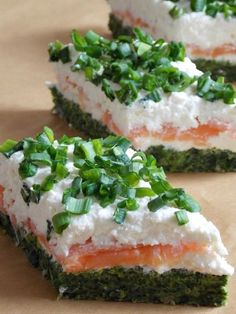 Pin by Barbara kuchta on Przekaski Appetizer Recipes, Snack Recipes, Appetizers, Healthy Recipes, Snacks, Swedish Recipes, Food Places, Polish Recipes, Pinterest Recipes