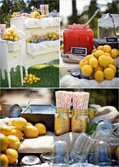 lemonade stand for the wedding | wedding chicks + william innes photography.
